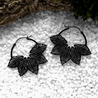 Black Leaves Hoops