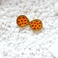 Infinity Pizza Pin