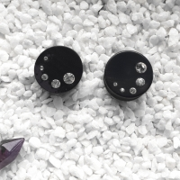 Wooden Crystals Plugs