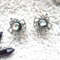 Silver Ornamental Moonlight Plugs